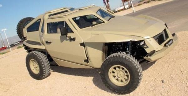 Darpa's Vehicle