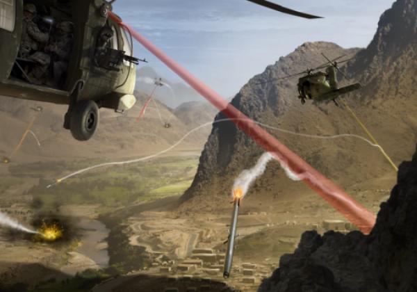 Raytheon anti missile lasers