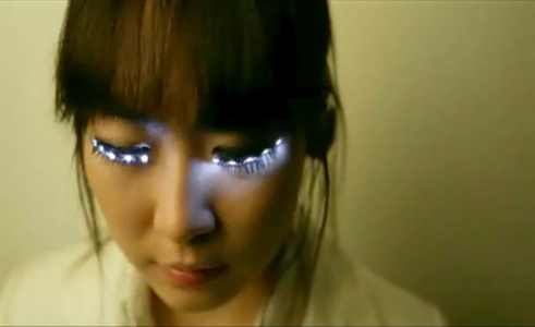 how to make your eyes look bigger korean