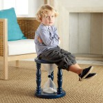 Kid in stool