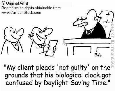 Daylight savings time comic